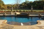 <h5>Custom Swimming Pools - Coppell</h5><p>Signature Pools & Spas - Custom Swimming Pools</p>