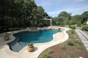 <h5>Landscape Design - Southlake</h5><p>Signature Pools & Spas - Custom Swimming Pools</p>