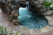 <h5>Stonework - Highland Village</h5><p>Signature Pools & Spas - Custom Swimming Pools</p>