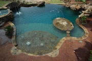 <h5>Custom Pool Design - Richardson</h5><p>Signature Pools & Spas - Custom Swimming Pools</p>