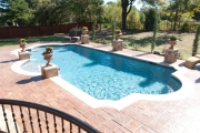 <h5>Swimming Pool Patio - Trophy Club</h5><p>Signature Pools & Spas - Custom Swimming Pools</p>