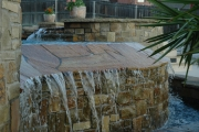 <h5>Pool Waterfalls - Argyle</h5><p>Signature Pools & Spas - Custom Swimming Pools</p>