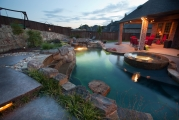 <h5>Outdoor Design - Highland Village</h5><p>Signature Pools & Spas - Custom Swimming Pools</p>