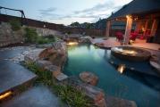 <h5>Outdoor Design - Highland Village</h5><p>Signature Pools & Spas - Custom Swimming Pools</p>