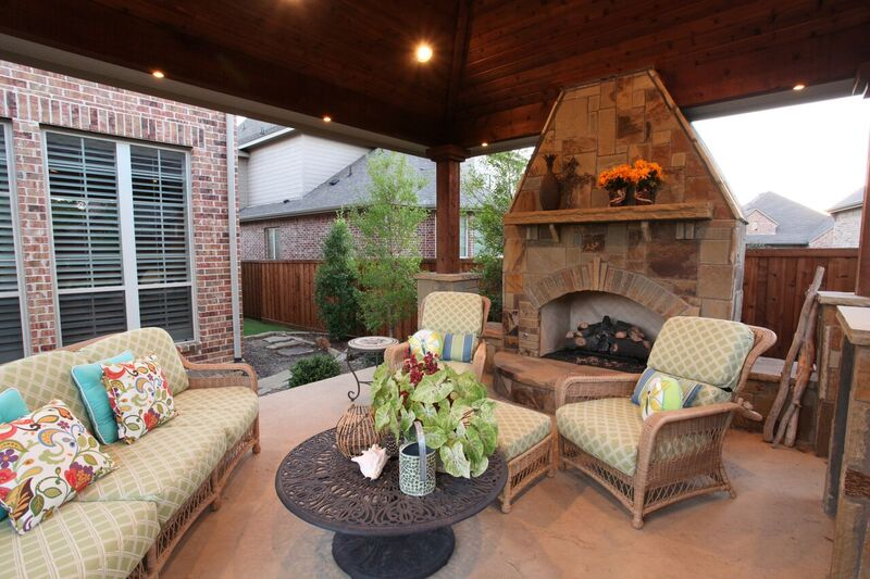 Now That It Is Finally Winter, It May Be The Perfect Time To Consider  Building An Outdoor Fireplace. They Provide A Great Way To Entertain And To  Extend ...